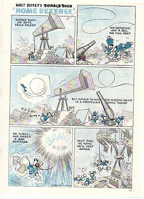 1943 Disney - Donald Duck, Huey, Dewey and Louie from Good Housekeeping