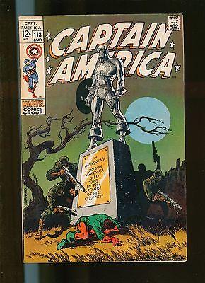 Captain America  No 113  Steranko  US Marvel  vfn