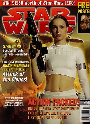 Star Wars magazine No:38 May/June 2002, Attack of the Clones, Special Effects