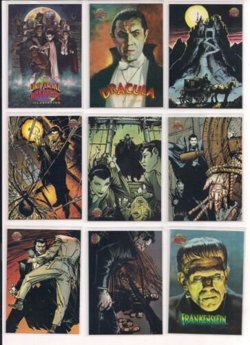 1991 Universal Monsters Trading Cards U You Pick / Choose From List / CHOICE