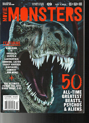 MOVIE MONSTERS MAGAZINE,  HALLOWEEN SPECIAL EDITION, 2017   - Halloween Movie Specials 2017