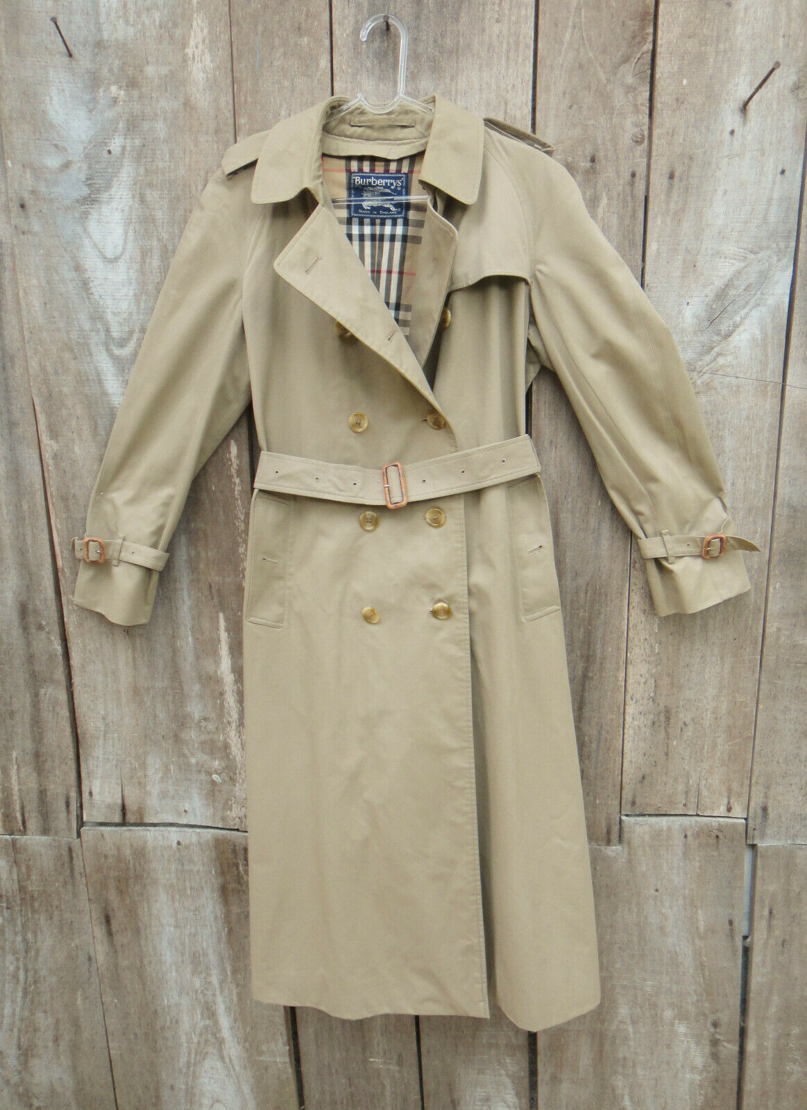 Trench femme burberry vintage t 40