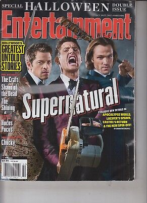 Special Halloween Double Issue Entertainment Weekly Oct 20/27, 2017 #1487/1488