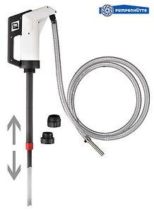AdBlue® Handpumpe mit 3 Meter Abgabeschlauch und 2 Fassadaptern