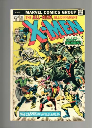 Uncanny X-Men #96, GD/VG 3.0, 1st Appearance Moira McTaggert; Wolverine