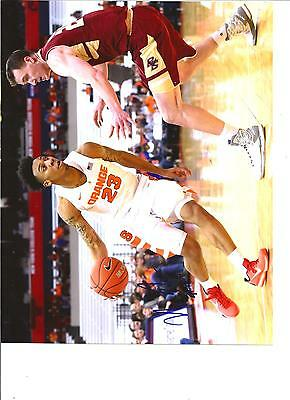 Syracuse Orange Photo - Malachi Richardson autographed 8x10 photo Syracuse Orange!! w/COA