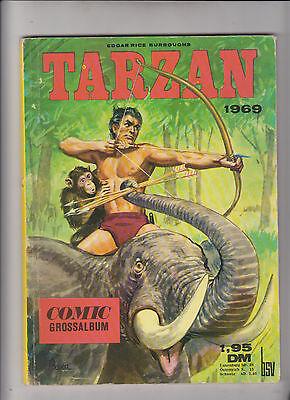 Tarzan Comic Gross Album Nr. 1 Bildschriften Verlag - BSV 1969
