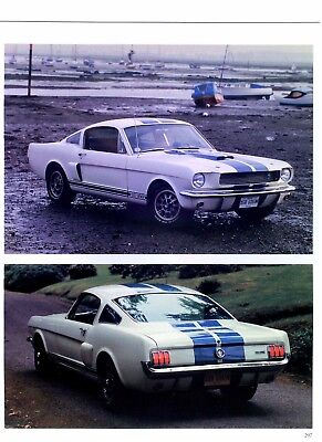 1965 Ford Mustang Specs - 1965 to 1969 Ford Mustang Shelby GT 350 500 specs prices production 12x9 8 pages