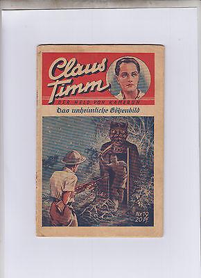 Claus Timm Der Held von Kamerun Verlagshaus Freya Originalheft Endnummer 19