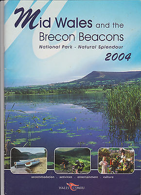 Mid Wales   Brecon Beacons Travel Guide Book 2004 Free S H