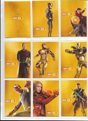 MARVEL STUDIOS - The First Ten Years: Custom trading card set