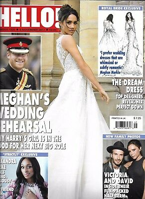 Hello Magazine Meghan Markle Prince Harry David And Victoria Beckham Fashion