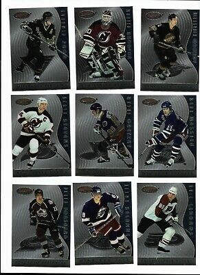 BOWMAN BEST HOCKEY 1995-96 PERSONAL BEST 30 CARD INSERT SET LOADED W/STARS +