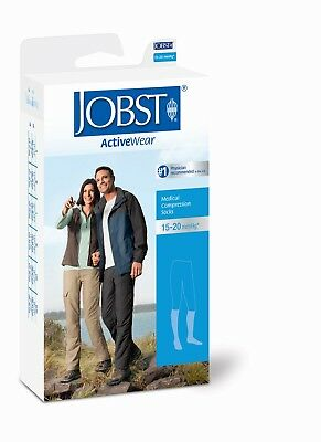 Jobst ActiveWear Compression Knee Socks 15-20 mmhg Supports