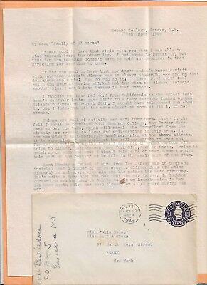 Geneva Ny 1946  Vintage Cover   Letter
