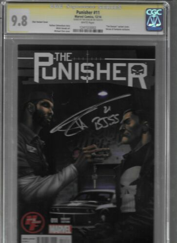 CGC 9.8-SS Tim Duncan PUNISHER #11, NBA Spurs Star w/Concept Car! BEAUTIFUL!