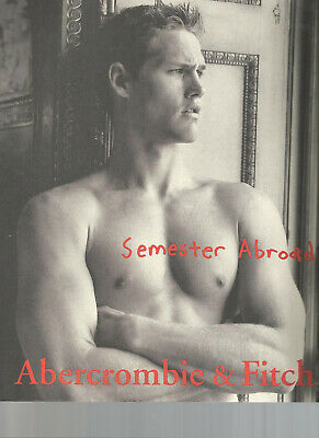 Abercrombie & Fitch 1999 Catalog A&F Quarterly BACK TO SCHOOL Bruce Weber HOT!