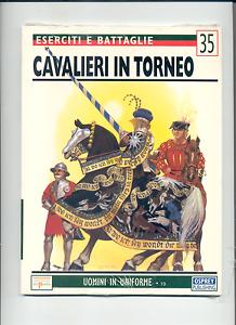 CAVALIERI-IN-TORNEO-COSTUMI-A-COLORI-E-ARMAMENTO-LIBRO-DI-64-PAG-COME-NUOVO