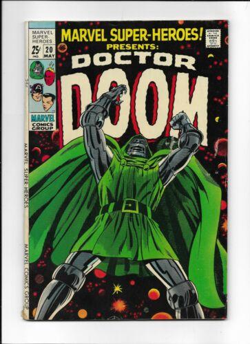 MARVEL SUPER-HEROES! #20 ==> FN DOCTOR DOOM & 1ST VALERIA 1969