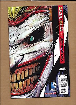 BATMAN & ROBIN #15   JOKER MASK COVER DEATH OF THE FAMILY  (Batman And Robin Masks)