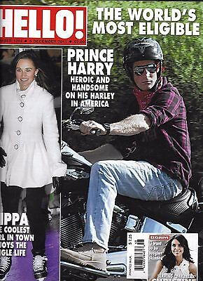 Hello Magazine Prince Harry Pippa Middleton Christine Bleakley Twiggy