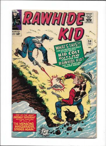 RAWHIDE KID #50 [1966 FN+] KID COLT OUTLAW APP!