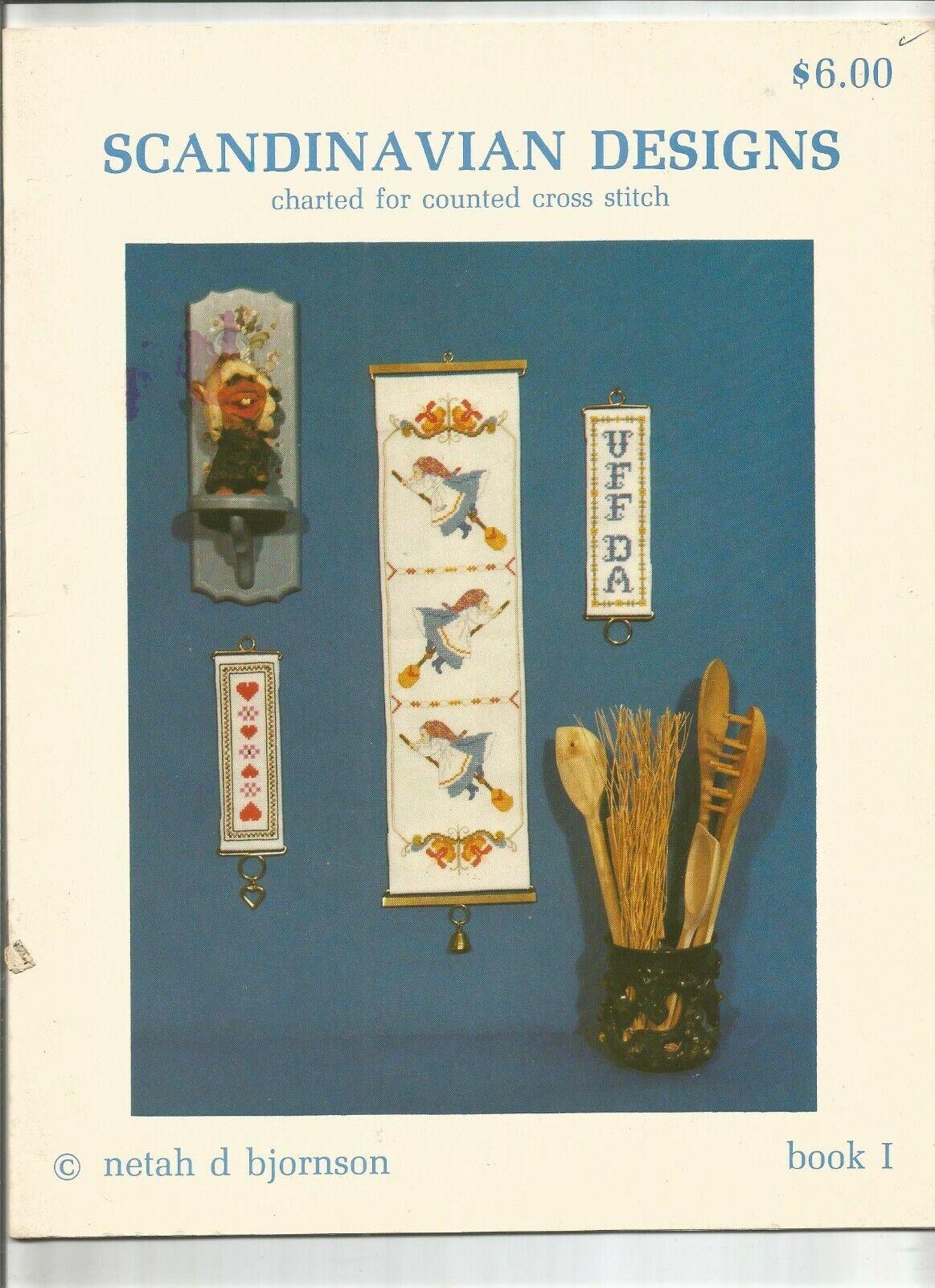 CROSS STITCH BOOK - SCANDINAVIAN DESIGNS