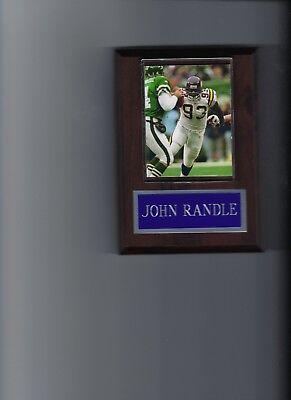 John Randle Minnesota Vikings - JOHN RANDLE PLAQUE MINNESOTA VIKINGS FOOTBALL NFL