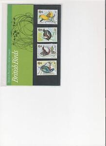 1980 ROYAL MAIL PRES PACK BRITISH BIRDS MINT DECIMAL GB STAMPS