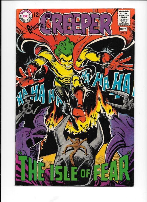 Beware the Creeper #3 (October 1968, DC) Steve Ditko art