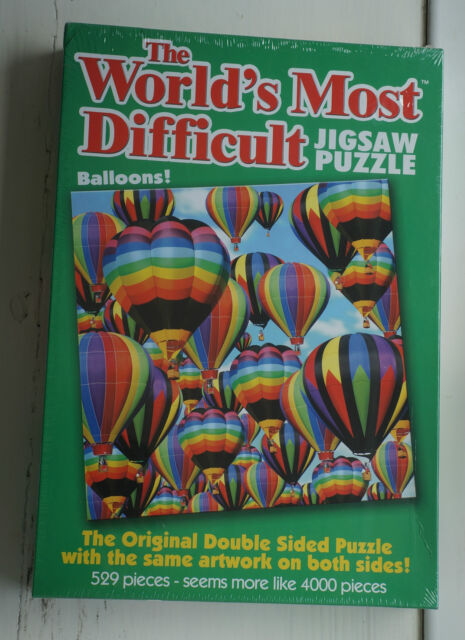 The Worlds Most Difficult Balloons Jigsaw Puzzle -Official - Paul Lamond Games