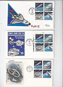 US First Day Covers Space