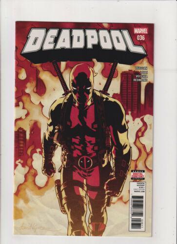 Deadpool #36 NM- 9.2 Marvel Comics 2017 Wade Wilson