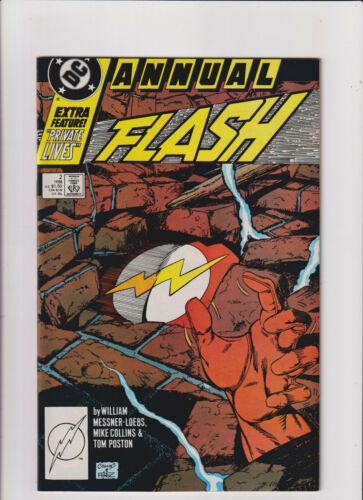 Flash Annual #2 VF/NM 9.0 DC Comics 1988 Copper Age