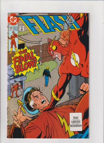Flash #77 NM- 9.2 DC Comics 1993 Golden Age Flash, Mark Waid