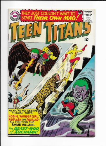 TEEN TITANS #1 ==> VF+ 1ST APPEARANCE IN THEIR OWN SERIES DC COMICS 1966