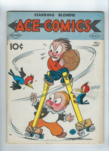 Ace Comics 31 Blondie Phantom Prince Valiant NICE COPY