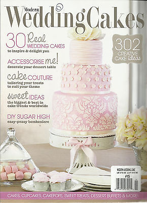Modern Wedding Cakes - MODERN WEDDING CAKES,   NO. 15    ( 30 REAL WEDDING CAKES * DIY SUGAR HIGH )