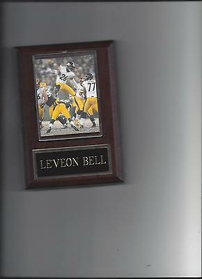 Bell Plaque (LE'VEON BELL PLAQUE PITTSBURGH STEELERS FOOTBALL NFL)