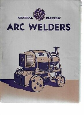 General Electric Arc Welders 1931 Catalog Including Cover Letter