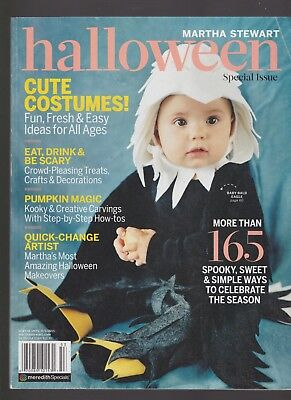 MARTHA STEWART HALLOWEEN MAGAZINE SPECIAL ISSUE COSTUMES!TREATS! TRICKS!2015