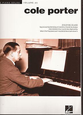 Klavier Noten - COLE PORTER - 22 JAZZ PIANO SOLOS - VOLUME 30