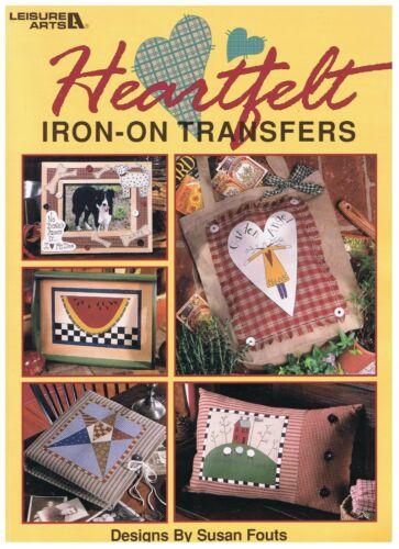Heartfelt Iron-On Transfers Leisure Arts