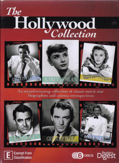 HOLLYWOOD COLLECTION -  6 DVD Box Set - All Zone - PAL