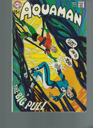 Aquaman #51 (DC 1970) VF 8.0 Neal Adams Artwork, Deadman App 15 cent cover