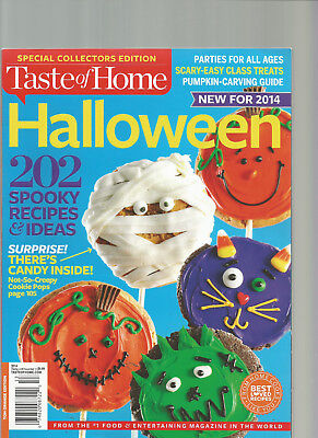 TASTE OF HOME MAGAZINE SPECIAL COLLECTORS EDITION HALLOWEEN 2014](Taste Of Home Halloween Magazine)