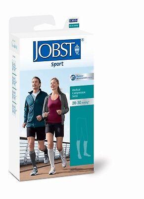 Jobst Sport Knee High Support Socks 20-30 mmHg Compression F