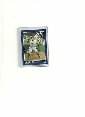 1994 Conlon color card  Lou Gehrig  # 31