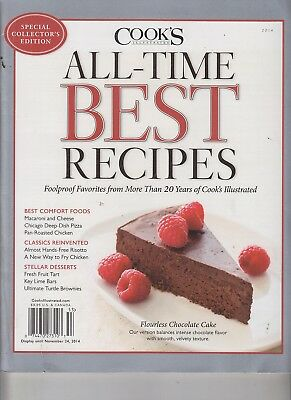 Cook's Illustrated All-Time Best Recipes Special Flourless Chocolate Cake