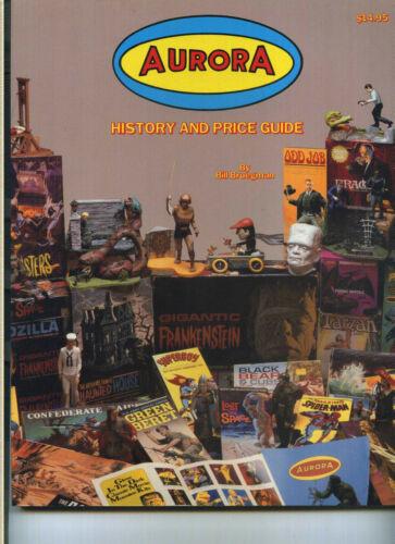 AURORA HISTORY AND PRICE GUIDE, GLENCOE MODELS CATALOG, DIE CAST 1993 EB7